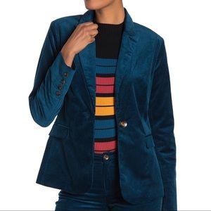 NWT Moroccan Blue Corduroy Blazer
